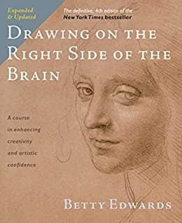Drawing on the Right Side of the Brain: The Definitive, 4th Edition (eBook) for $1.99.