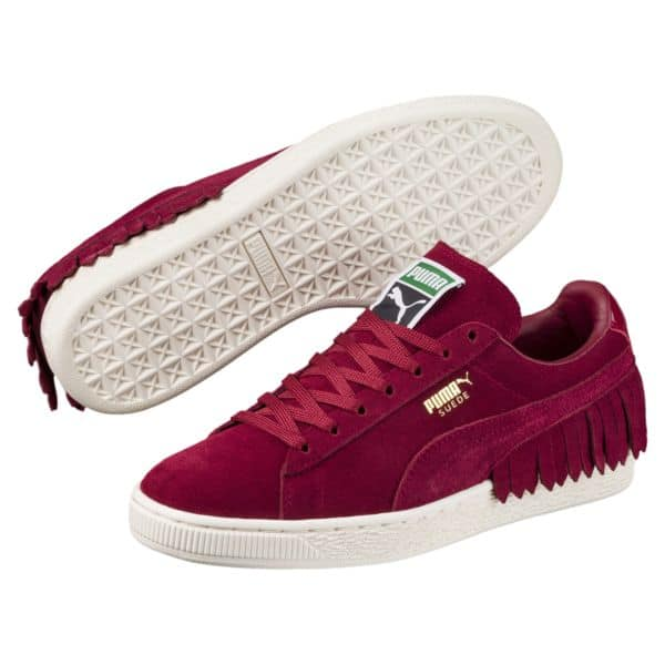 (Ships Free) Suede TSSLl Women's Sneakers (in 2 Colors) $19.99