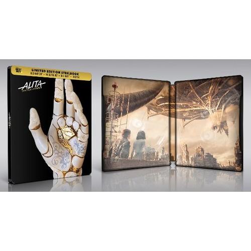 Alita: Battle Angel SteelBook 4K + 3D $34.99 pre-order Shipping Only