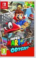 Nintendo Switch Games: Super Mario Odyssey $45.99