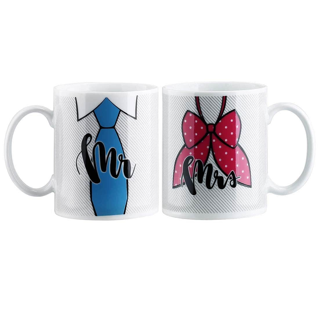 Avery Barn Mr & Mrs Color-Changing Heat-Sensitive Wedding Anniversary Mug Set $5.85