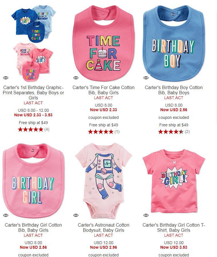 6a778cf748 Carter's Baby Clothes from $2.33 @Macys | LavaHotDeals.com