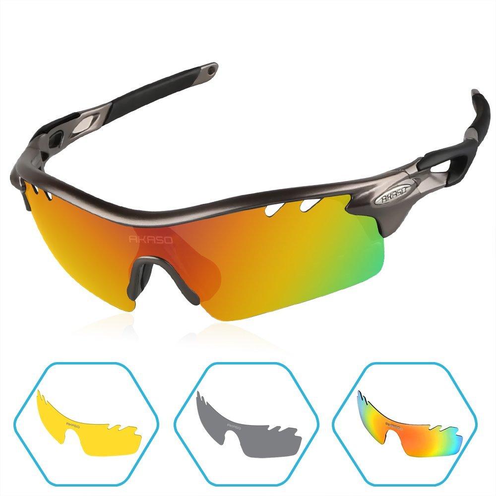 Polarized Sports Sunglasses for Men $9.88