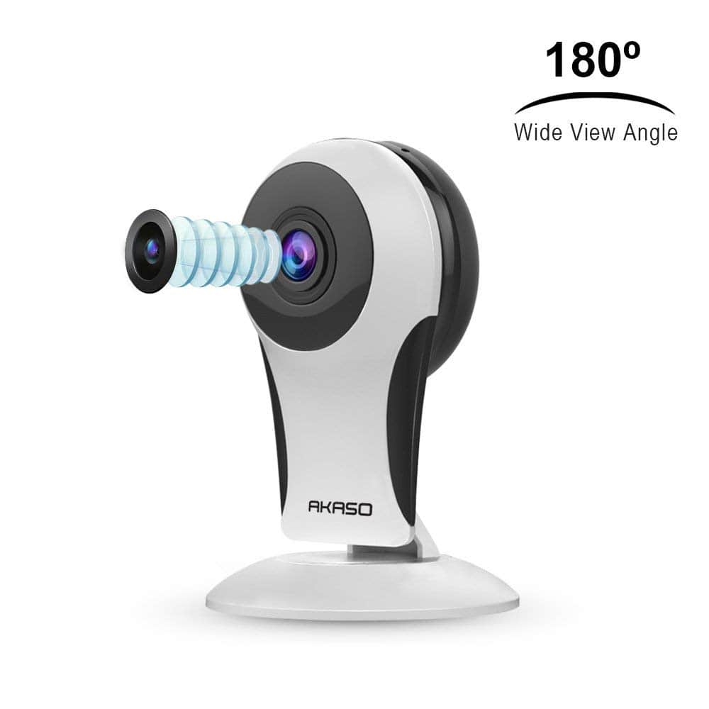 Home Security Business WiFi IP Camera with Real Time 16ft Night View $7.99, 80% off