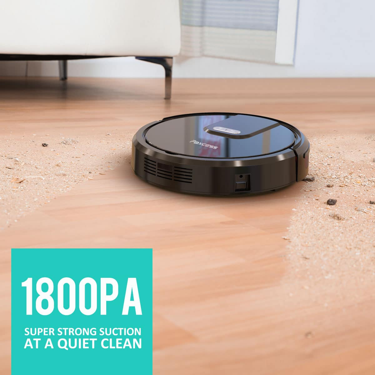Paxcess MT900 Robotic Vacuum Cleaner $159.99, Free Shipping @ Walmart