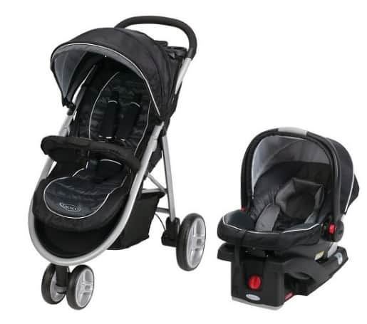 Graco Aire3 Click Connect Travel System, Gotham - $155.03   w/FreeShipping + Tax (YMMV)