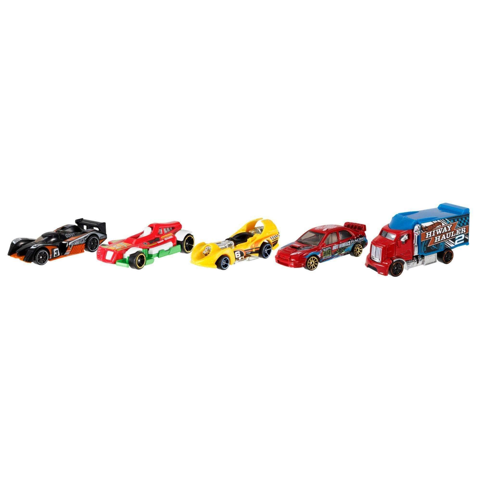 Hot Wheels 5-Car Gift Pack (Styles May Vary)  $4.55