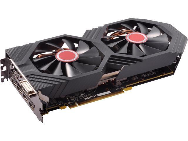 XFX Radeon RX 580 DirectX 12 RX-580P427D6 4GB 256-Bit DDR5 Video Card w/ Backplate $169.99