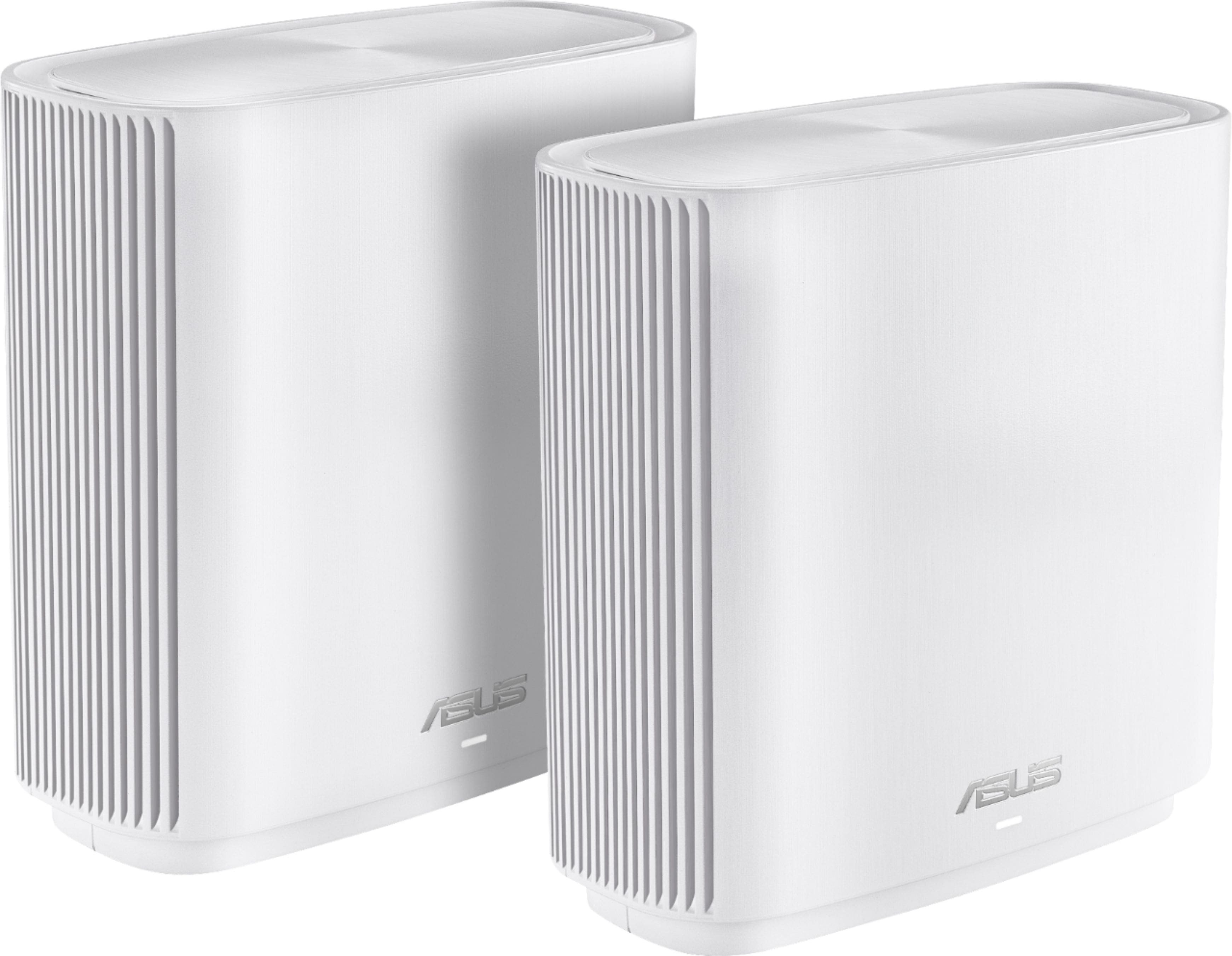 ASUS - ZenWiFi AC Tri-Band Mesh Wi-Fi Router (2-pack) - White - $254.99 after 15% Recycle Credit, Free Shipping