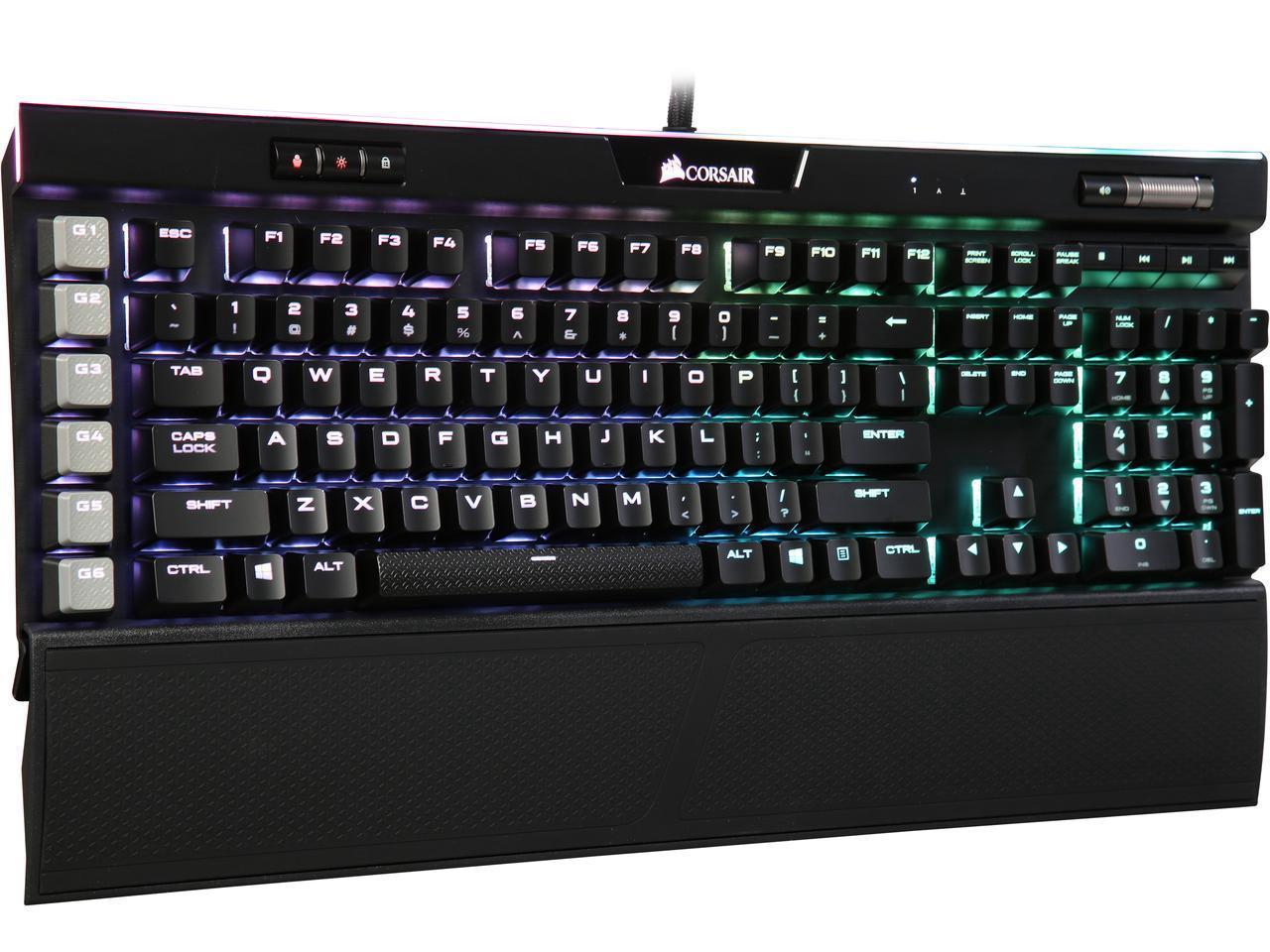 Refurbished Corsair K95 RGB PLATINUM Gaming Keyboard - $107 80