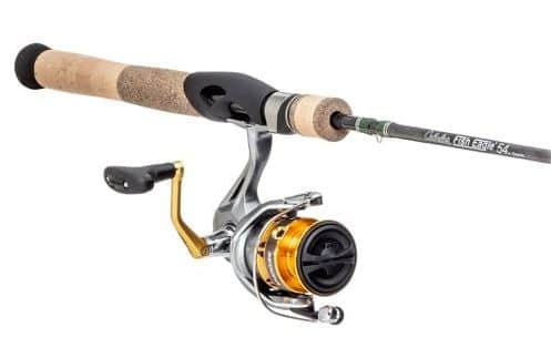 Shimano Sedona FI + Cabela's Fish Eagle Spinning Rod & Reel