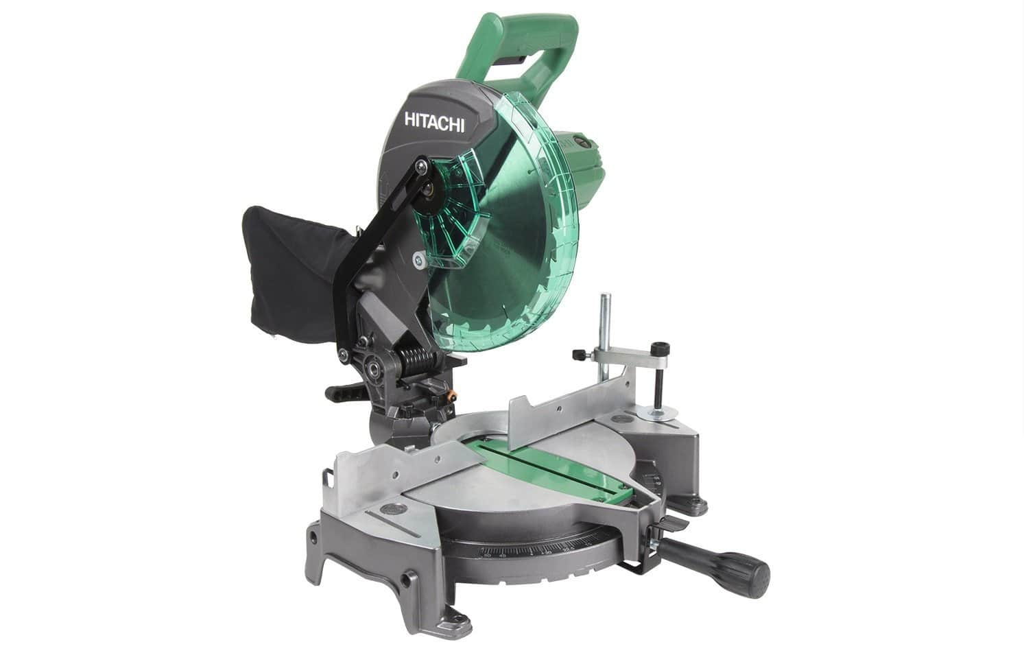 Hitachi 10-in 15-Amp Single Bevel Compound Miter Saw, $80 w/coupon, FS or Store Pickup