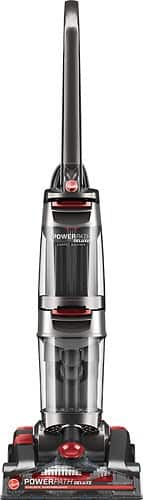 Hoover - Power Path Deluxe Upright Deep Cleaner - Iron Ore Metallic/Genesis Red $59.99