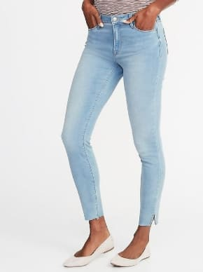$10.78 Mid-Rise Rockstar Super Skinny Jeans