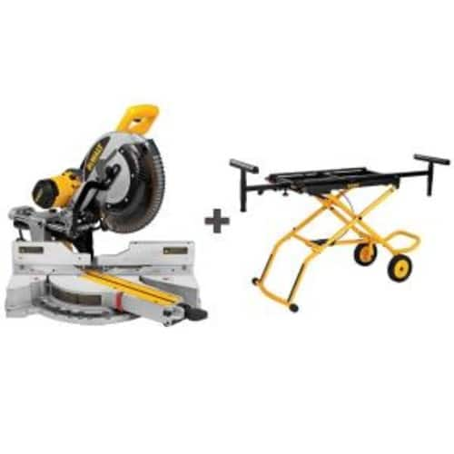 $599 Dewalt DWS780 with free stand at Home Depot