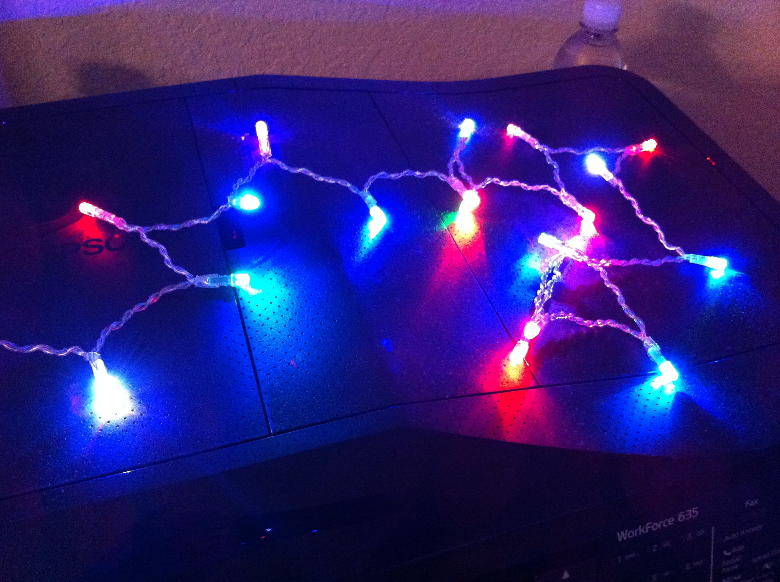 FREE USB Powered LED Christmas lights with Best Buy Gift Card B&M Only YMMV