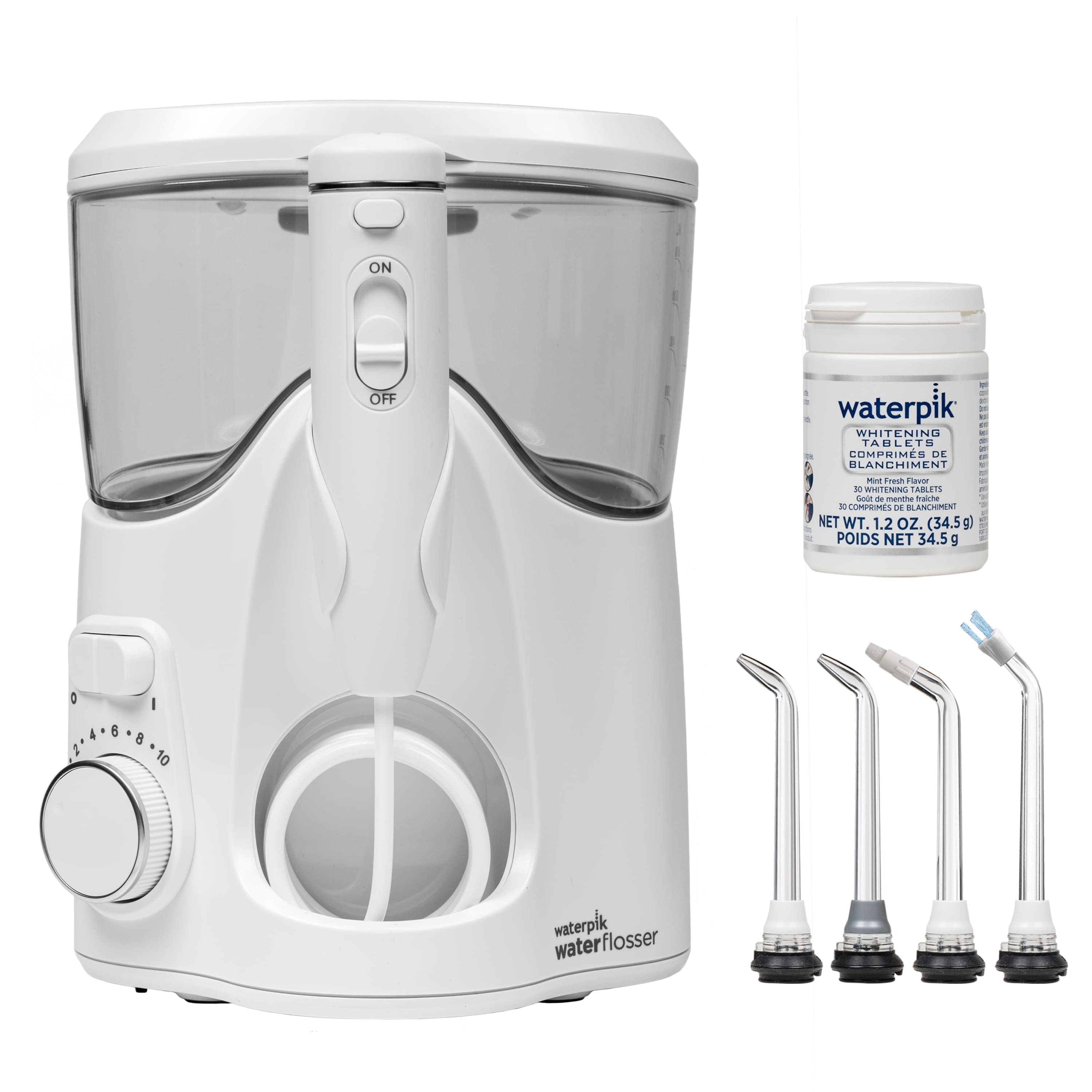 Waterpik Whitening Countertop Water Flosser, WF-06 $35.99