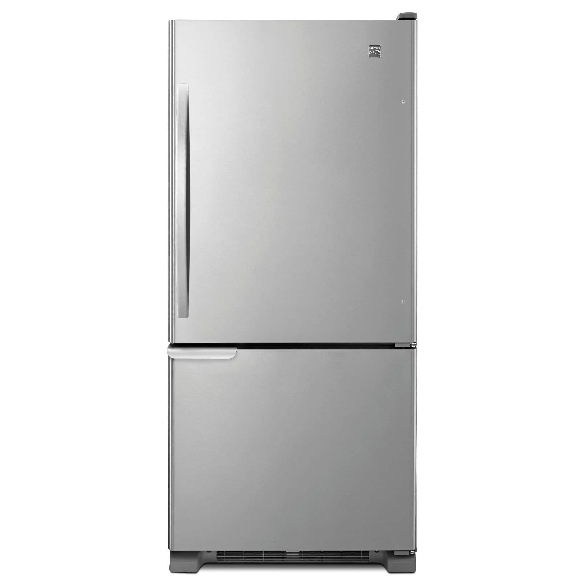 Kenmore 19 cf Bottom Freezer Refrigerator-Stainless Steel $672 (RR $1300).  Get $41.72 SYW points. Free shipping.
