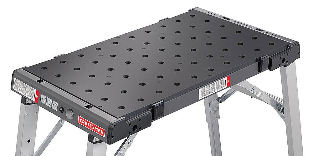 Craftsman Portable Peg Clamping Workbench $80 (Reg $160).  Free shipping at Sears.