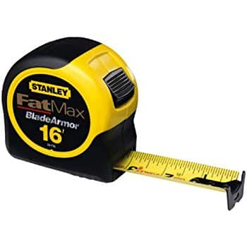 Stanley 16-Foot-by-1-1/4-Inch FatMax Tape Rule $7.50.  (Reg $15). Members get $3.75 back in SYW points. Free in store pick-up.  YMMV.