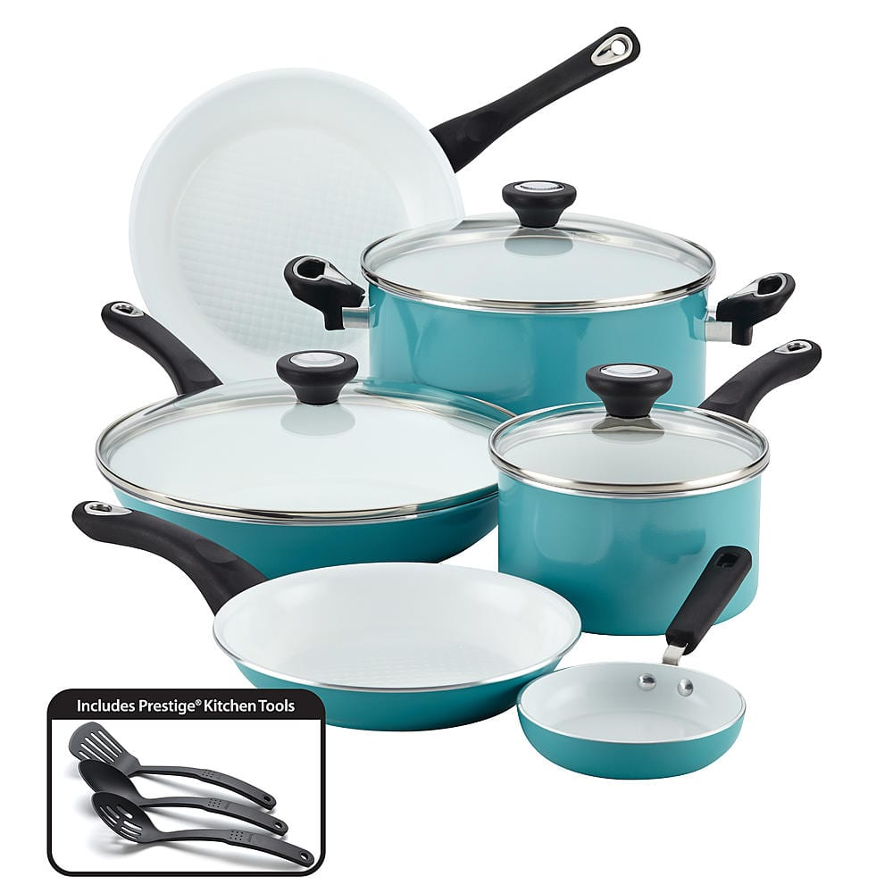 12-Piece Farberware Purecook Ceramic Cookware Set + $20 SYW Points ...