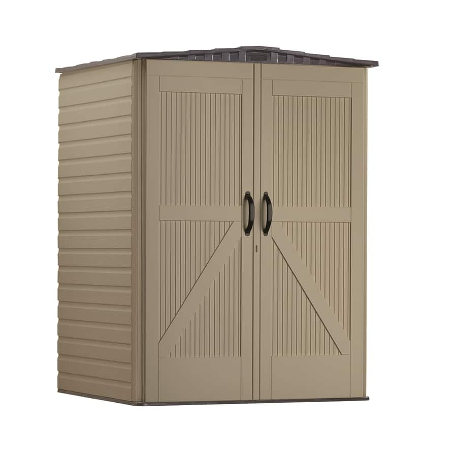 Rubbermaid Roughneck Storage Shed 5x4 $329.  Reg $429.  Free in store pick-up at Lowes. 5/19/18 only.