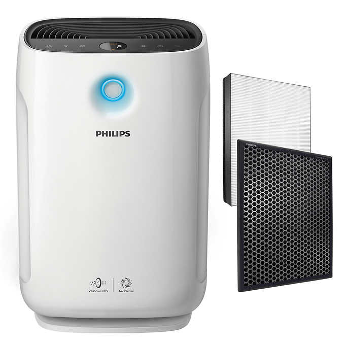 Philips 2000 Series True HEPA Air Purifier with Allergen Mode $230. Reg $330.  Costco Members Only.  Free shipping.