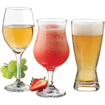 Libbey Celebrations Barware and Glassware, (Set of 12) $15.   Reg $33.  Free in store pick-up at Walmart.