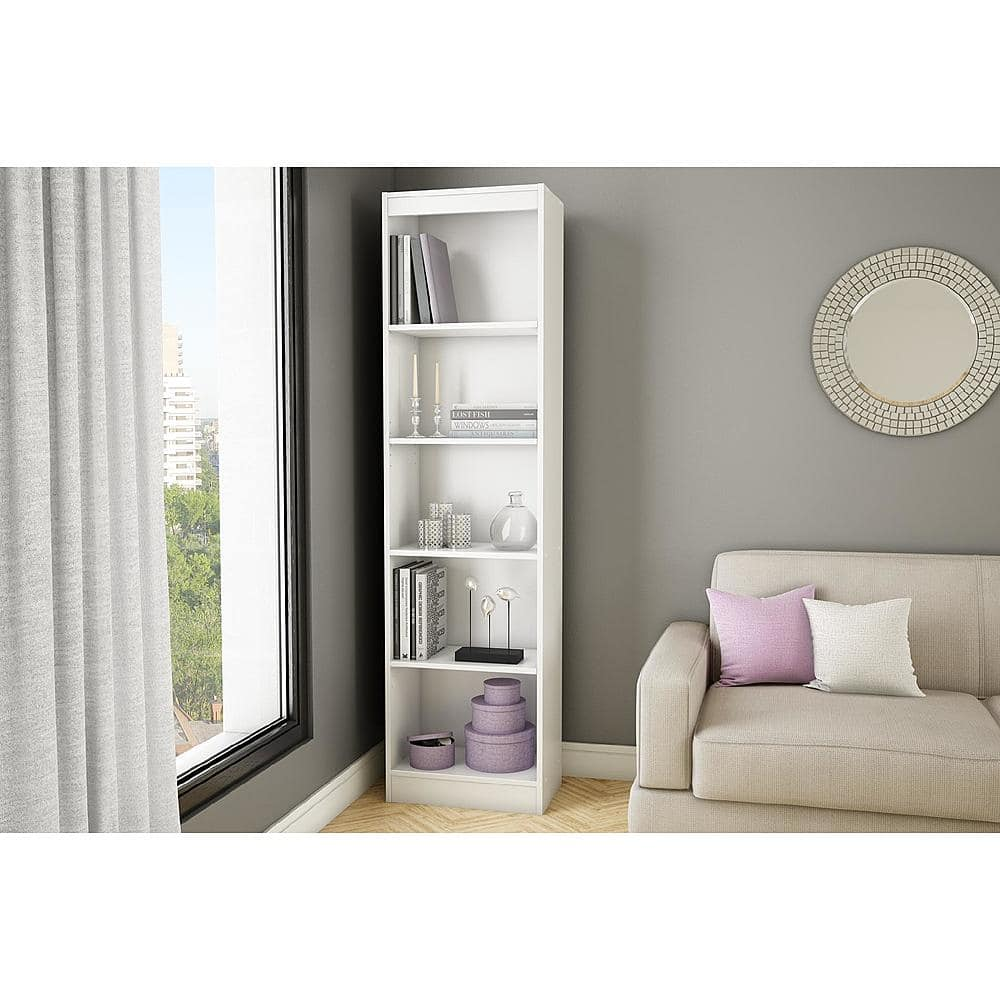 South Shore Axess 5-Shelf Narrow Bookcase $61.  Reg $129,  Get $60 back in SYW points.  Free shipping from Kmart.