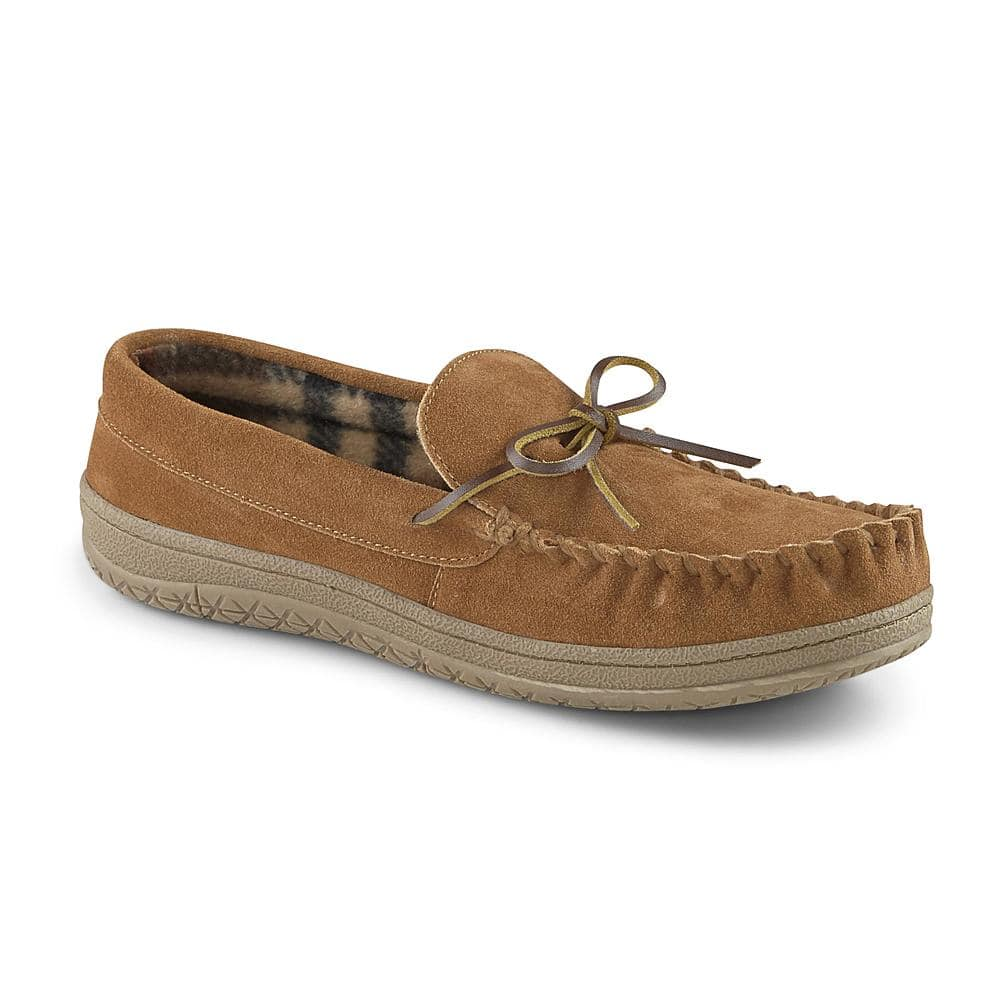 Men's Suede Trapper Moccasin Slippers $16.  (Reg $30).  Get back $15 SYW.  Free in store pick-up at Sears or Kmart.  F/S at $35.