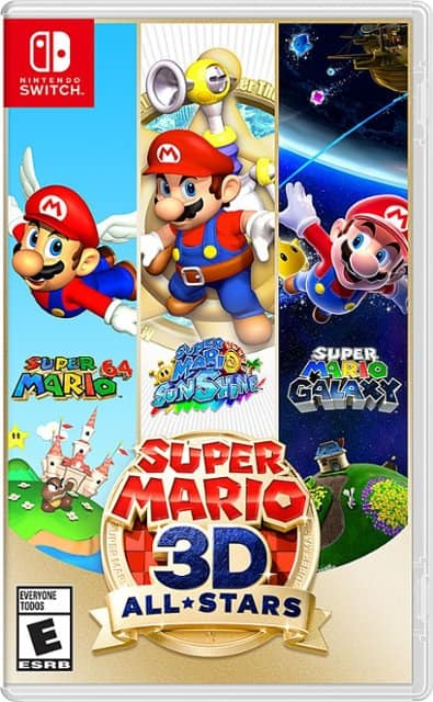 Super Mario 3d All Stars Switch Game $49.99 Free Shipping
