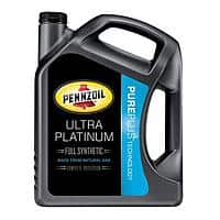 Amazon Deal: Pennzoil Ultra Platinum 5W-20 Full Synthetic 5 Quart $23.77 with S&S Amazon