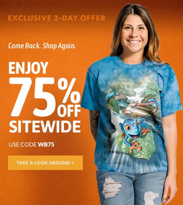 75% off sitewide at TheMountain.com (2 days only)