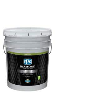 $13.00 YMMV PPG Diamond 5 Gal. Pure White Semi-Gloss Interior Paint and Primer-PPG53-510-05 - The Home Depot $13.00