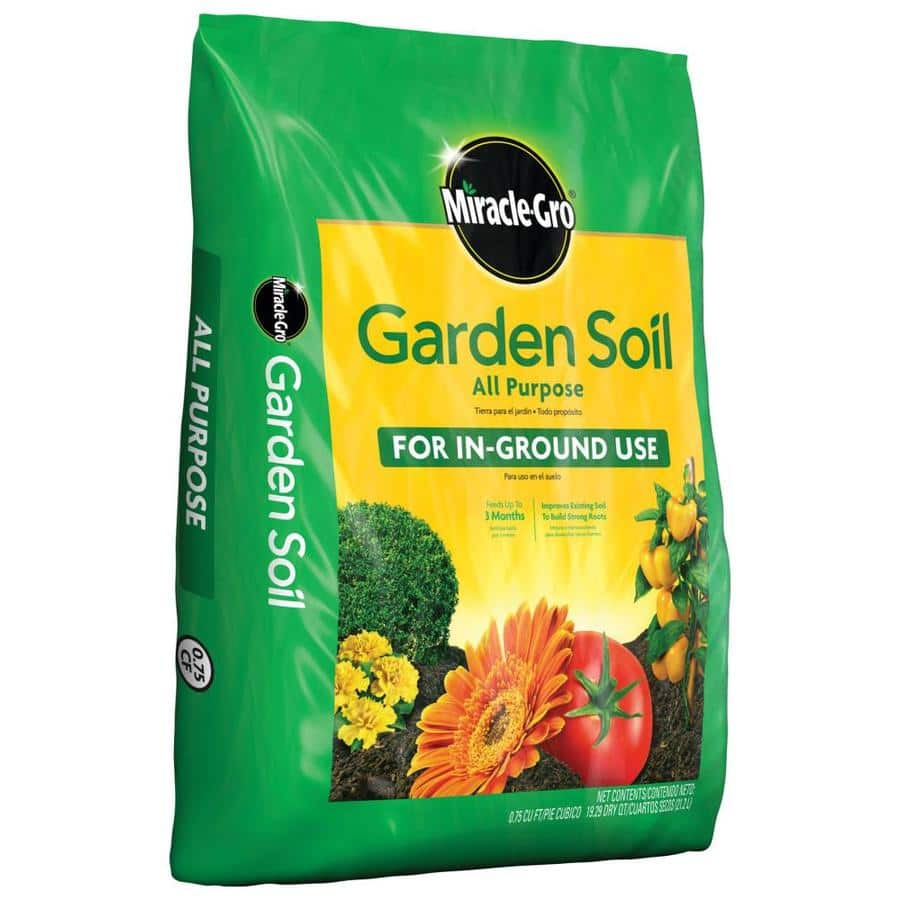 Miracle-Gro Garden Soil All Purpose 0.75-cu ft Garden Soil   50% OFF BUY 3 GET 3 FREE $2.14