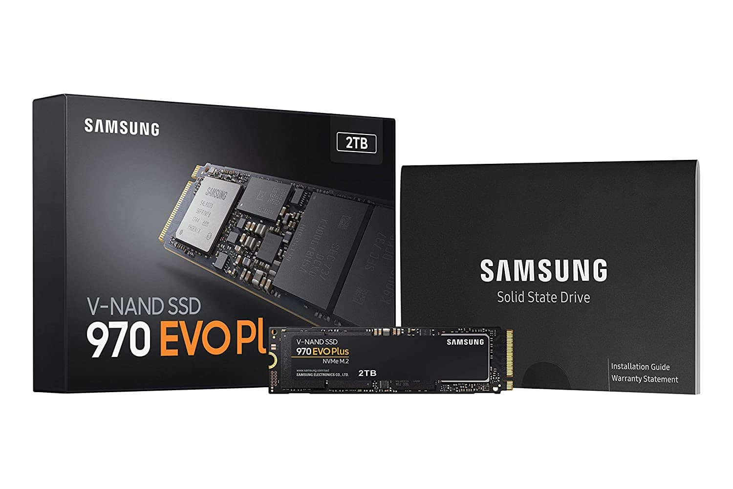 Samsung 970 EVO Plus Series - 2TB PCIe NVMe - M.2 Internal SSD (MZ-V7S2T0B/AM) $249.99