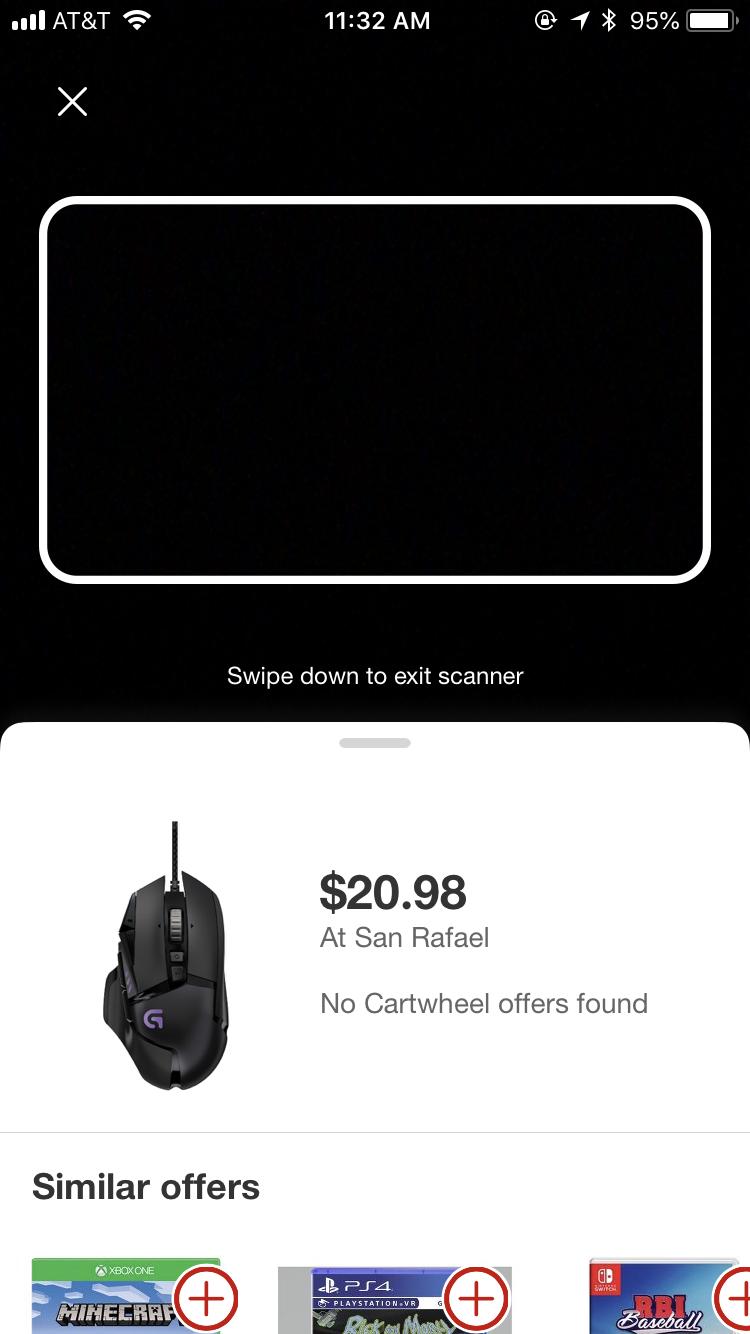 2bff549a87c Logitech G502 Proteus Spectrum RGB Gaming Mouse - $20.98 @ Target YMMV -  Slickdeals.net