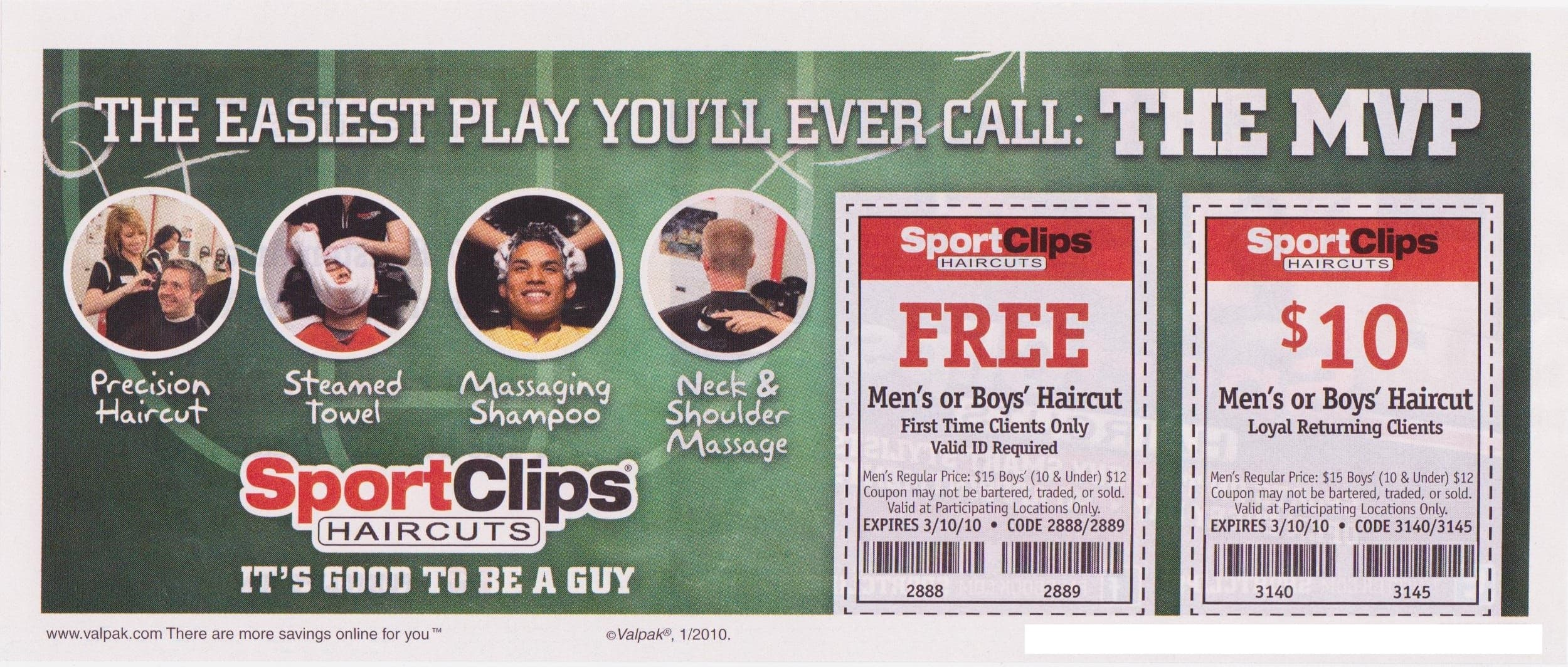 Sport Clips Men's Haircut (Free Haircut for 1st time visitors) - YMMV - Slickdeals.net