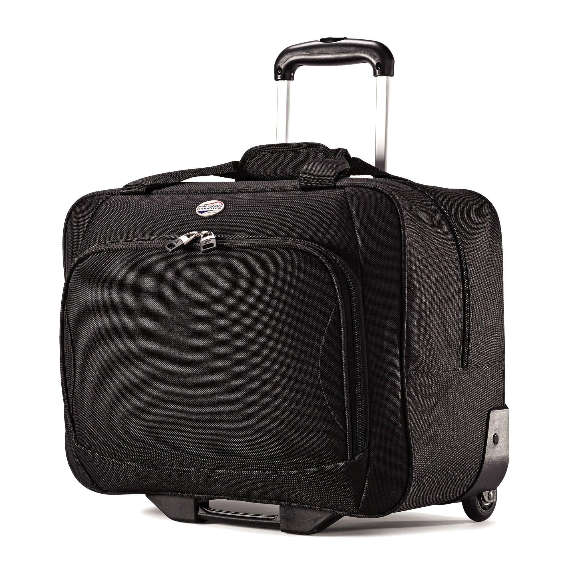 American Tourister Splash 2-Wheeled Boarding Bag - Black on clearance for $21.57 + Free store pick up or FS over $30