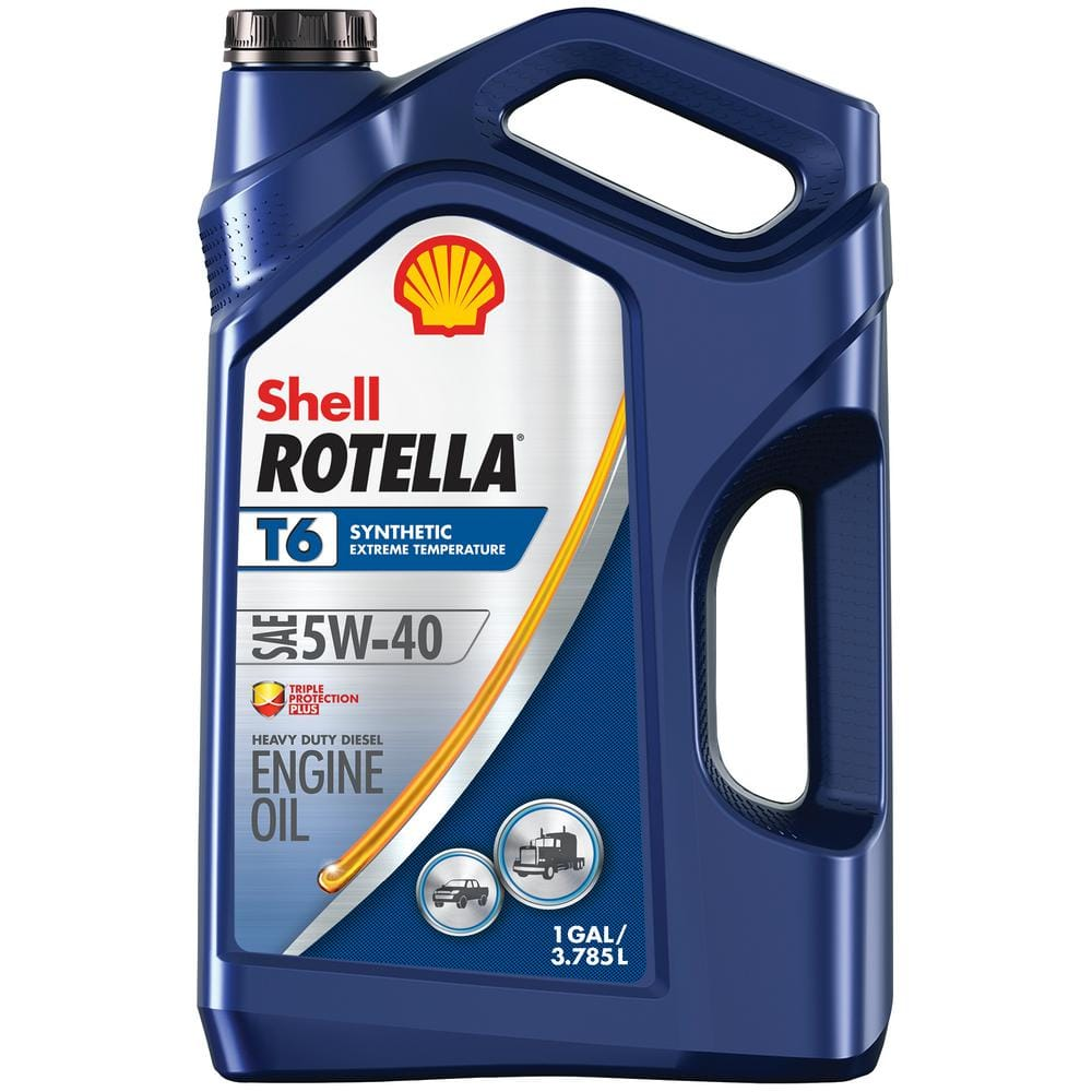 Rotella T6 Full Synthetic 5W-40 Diesel Motor Oil - 1 Gal. $17.94