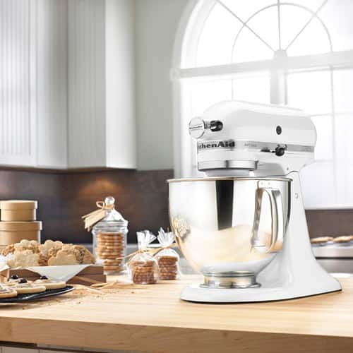 KitchenAid KSM150PSWH Artisan Series 5-Quart $198.15 *KOHLS CARD HOLDERS*