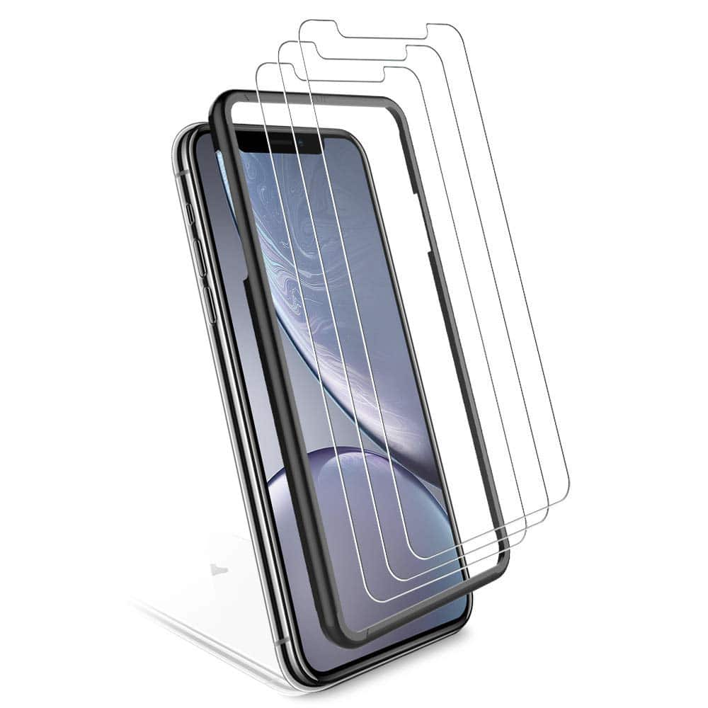 100% authentic 38fea 07ac0 3-Pack] iPhone XR / iPhone Xs Max Screen Protector $3.69 FS @ Amazon ...