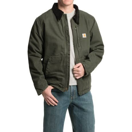 Men's Carhartt Full Swing Armstrong Jacket - Fleece Lined - $70