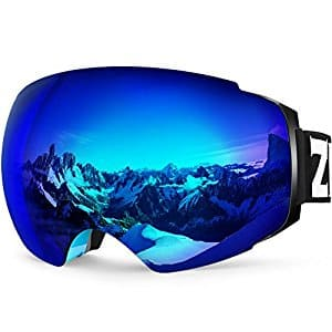 ZIONOR X4 Ski Snowboard Snow Goggles - Amazon Lightning Deal $16 w/ coupon Free Shipping