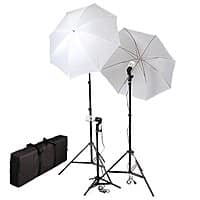 Amazon Deal: CowboyStudio Photography & Video Portrait Umbrella Continuous Triple Lighting Kit - 45$ + Tax
