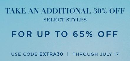 Ralph Lauren: up to 50% off + 30% off w/ code
