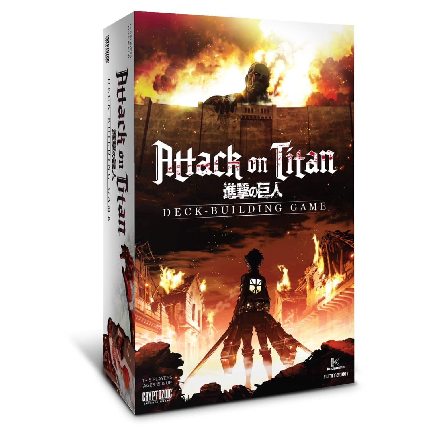 Attack on Titan Deck-Building Game $19.99 + Free shipping