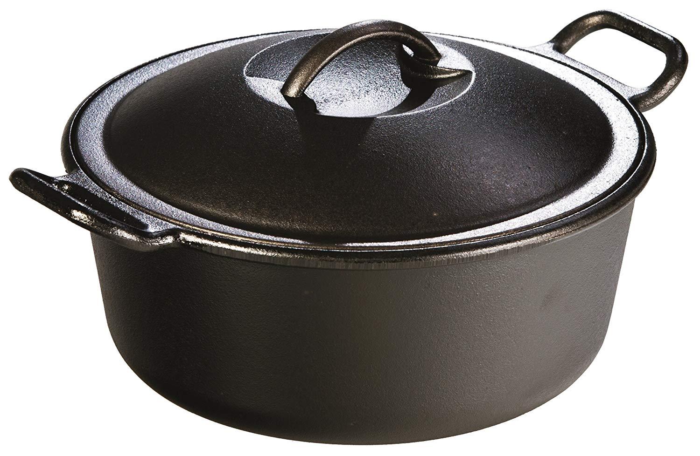 Lodge P10D3 Seasoned Cast Iron Dutch Oven, 4 quart $25.99