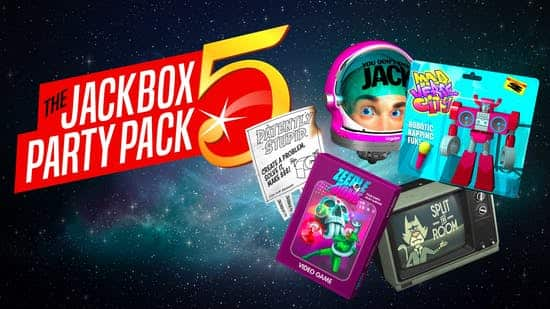 The Jackbox Party Pack 5 AND Spring Sale Free Game $10.19