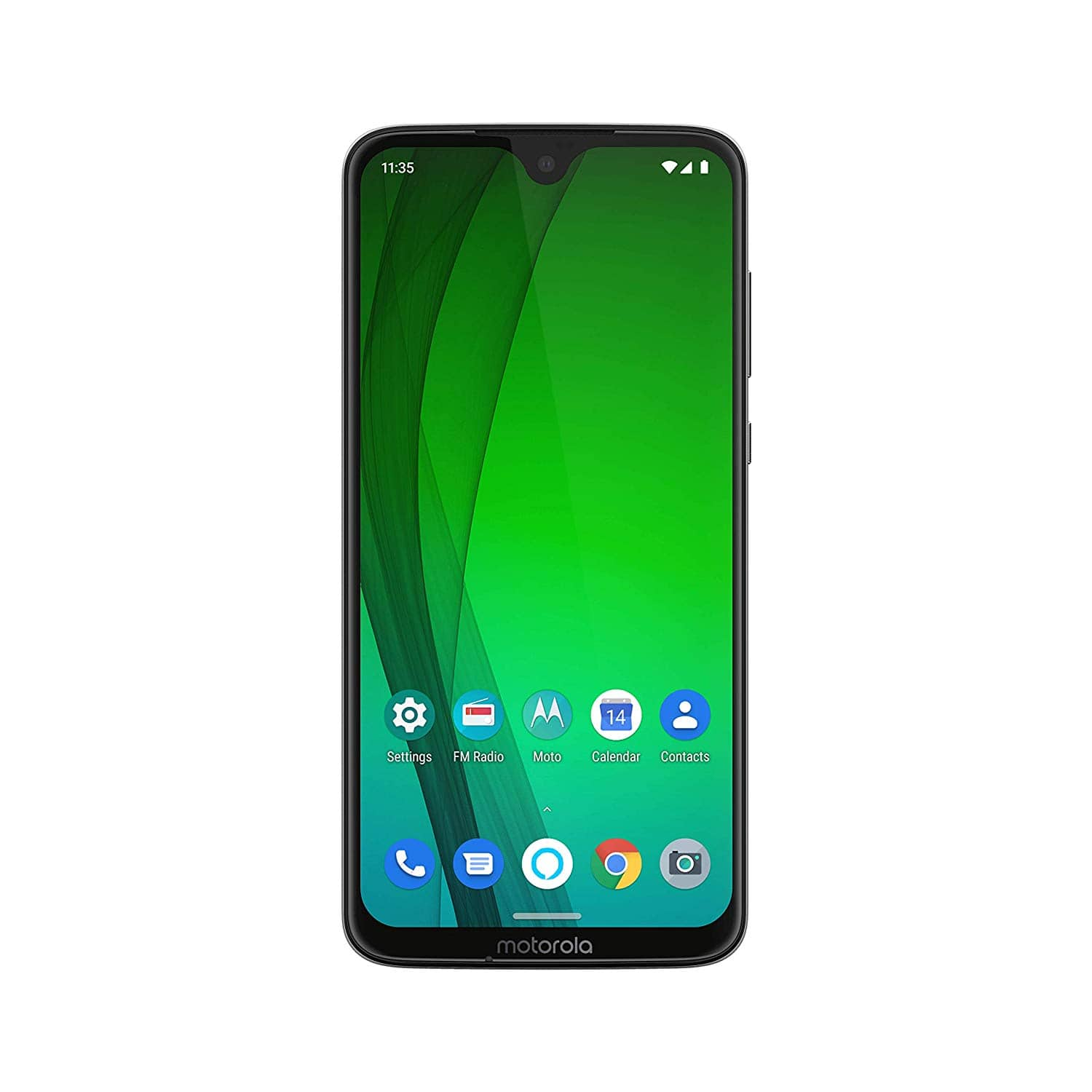 Moto G7 with Alexa Hands-Free – Unlocked – 64 GB – Clear White or Black $269.99